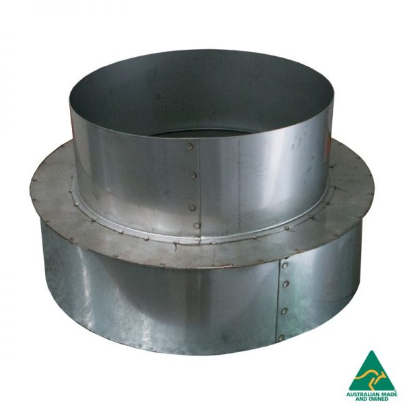 Wood / Gas 6″ to 8″ Reducer